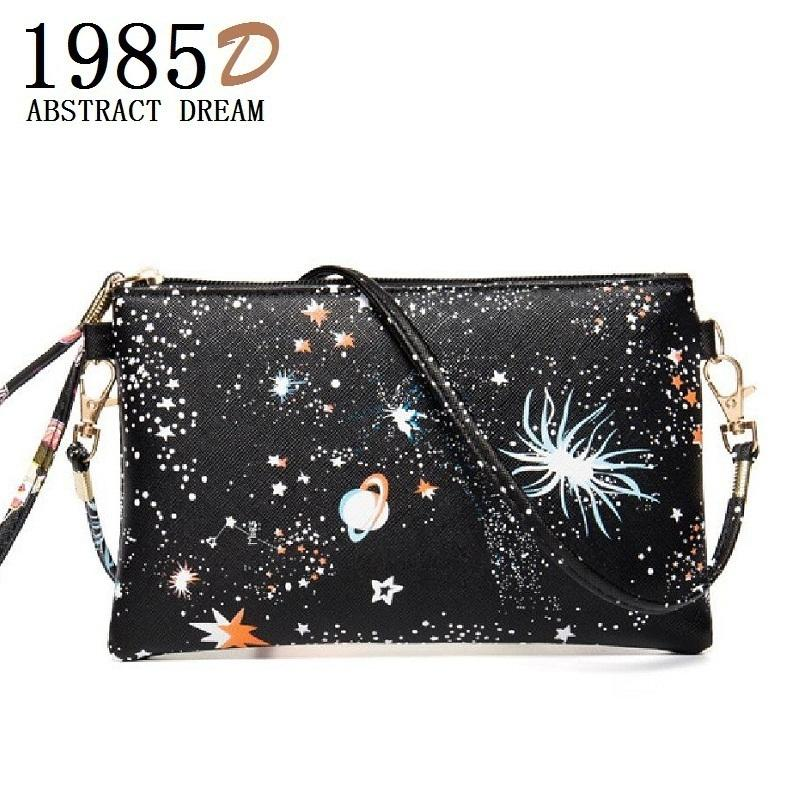 a395fb00b435 Cheap Women S Bag Wallet Fashion Mini Cartoon Handbags Messenger Bags  Leather Tote Small Envelope Starry Sky Clutch Sling Shoulder Bag Fashion Bags  Designer ...