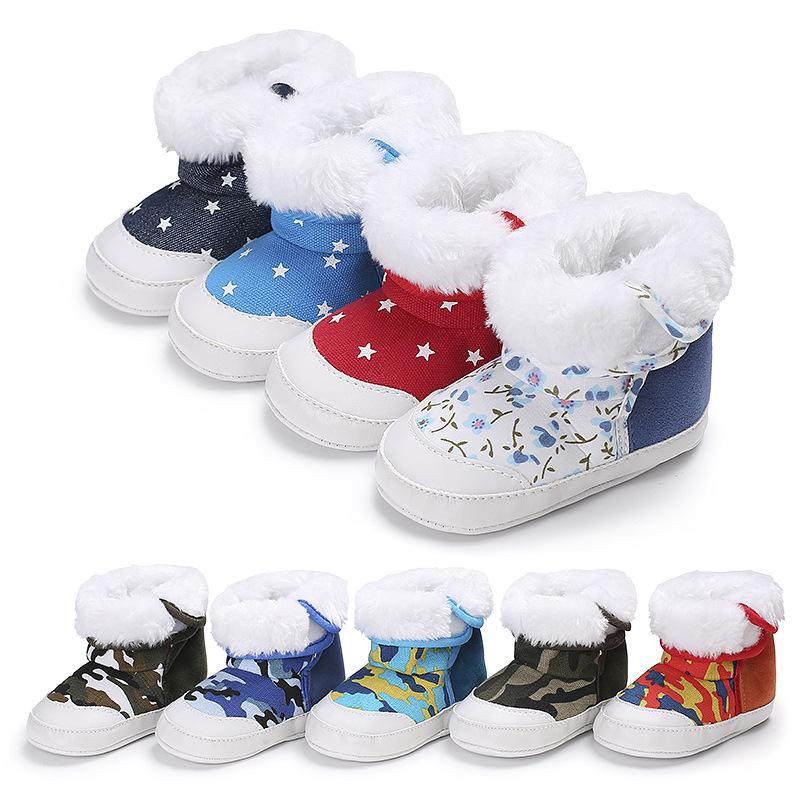 16d262171f372 2019 Best Selling Baby Shoes Toddler Shoes Girl Boy Winter Baby Boots Warm  Fleece Children Kids Snowboots Sport Shoes For Boys Gym Shoes For Girls  From ...