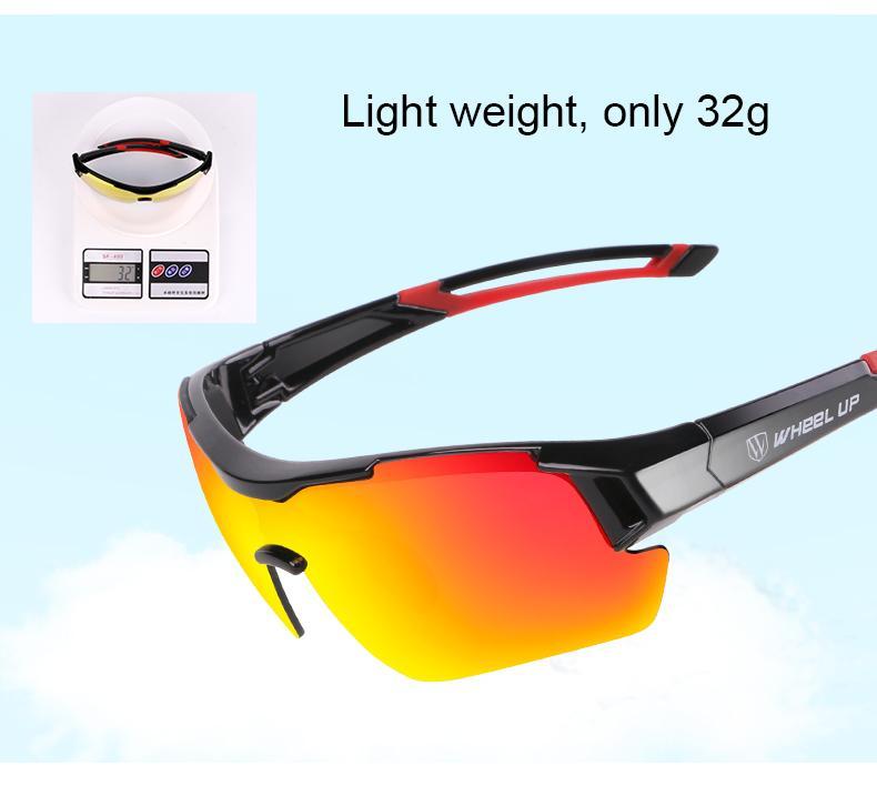 59535ed2badb 2019 WHEEL UP 3 Lens UV400 Cycling Eyewear Men Women Waterproof Coating  Aerodynamic Bicycle Polarized Sunglasses MTB Cycling Glasses From Phxi1984