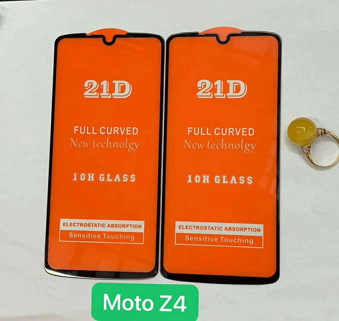 5D 6D 9D 21D Full Cover Tempered Glass For MOTO One Version Z4 Force E5  Play GO G7 Play G7 Power Screen Protector For iPhone Without package