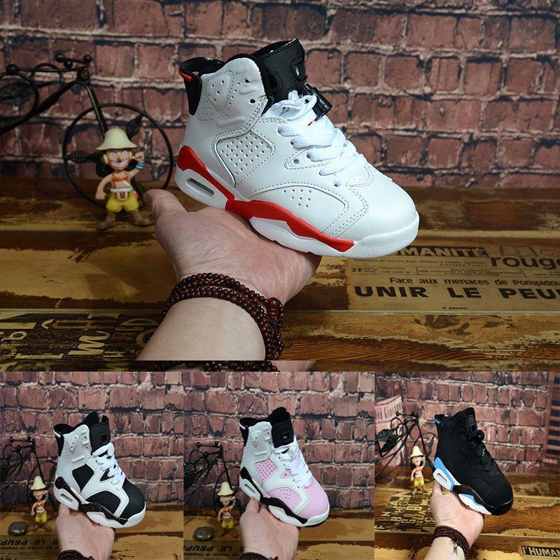 separation shoes 35395 70578 Großhandel Nike Air Jordan 6 12 13 Retro Kostenloser Versand Kinder Schuhe  12 S Französisch Blau Basketball Schuhe Jungen Mädchen Sportschuhe Kinder  Sport ...