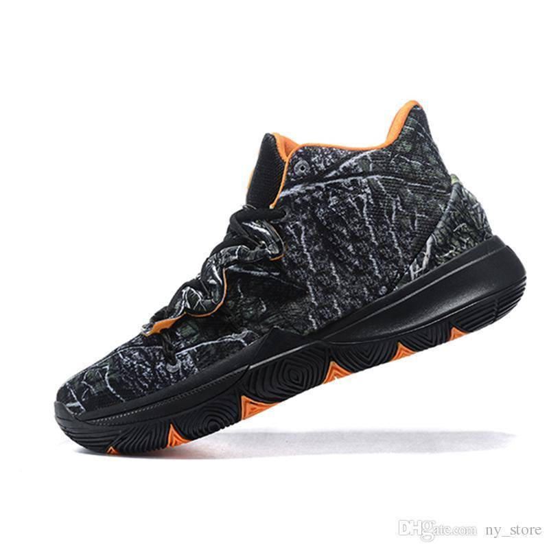 Irvin product 2019 Limited 5 Men Basketball Shoes 5s Black Magic For Kyrie Chaussures De Basket Ball Mens Trainers Sneakers Zapatillas 40-46