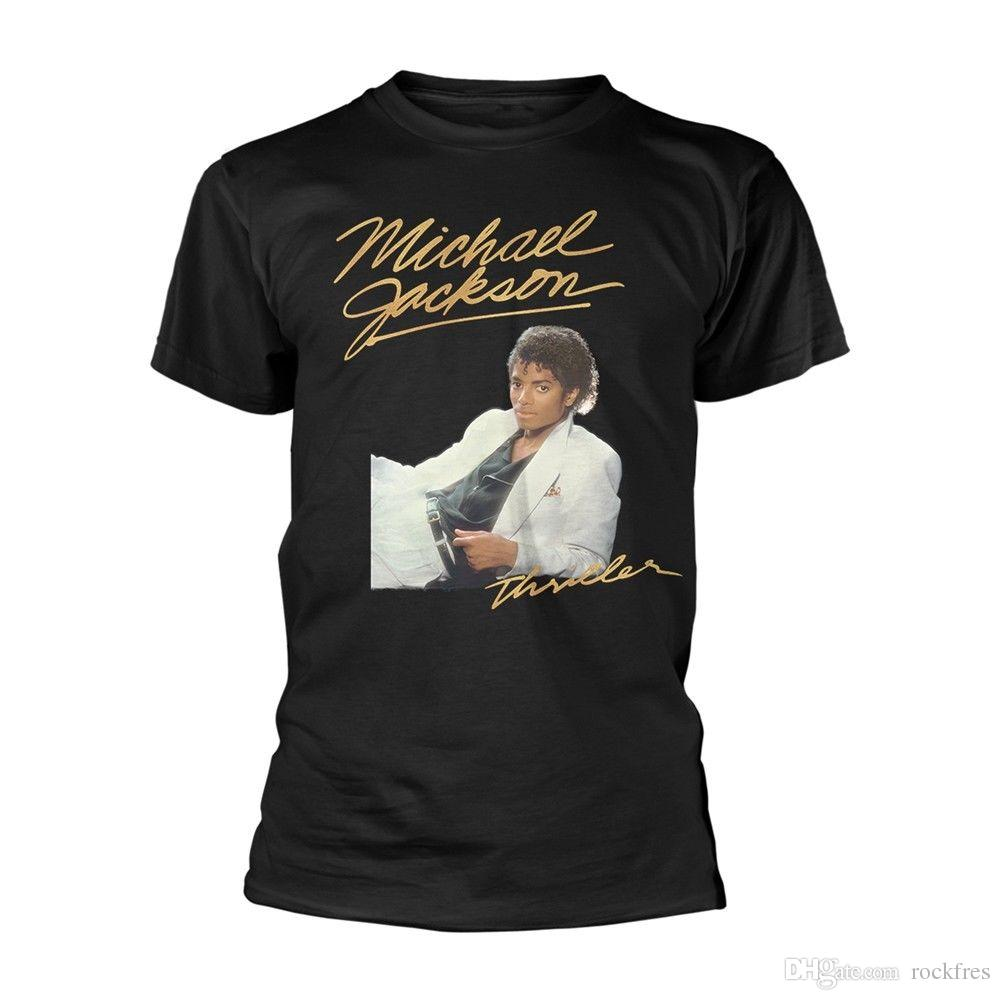 a7926e9715d Michael Jackson  Thriller White Suit  T Shirt NEW 10 T Shirt Awesome T  Shirts Online From Rockfres