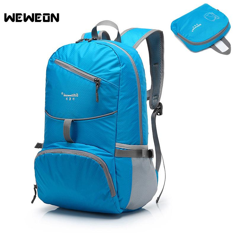 60de713269 2019 2018 Light Waterproof Sports Gym Bag Women Foldable Fitness Backpack  Nylon Outdoor Bag For Cycling Climbing Foldable Travel Bags From Fwuyun