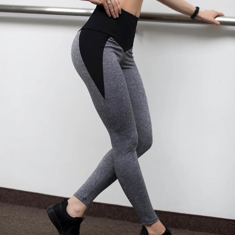 LJQlion Push Up Leggings Femme Fitness Patchwork Black Grey Women Workout  Legging High Waist Athleisure Activewear UK 2019 From Vickay 67843aa4255