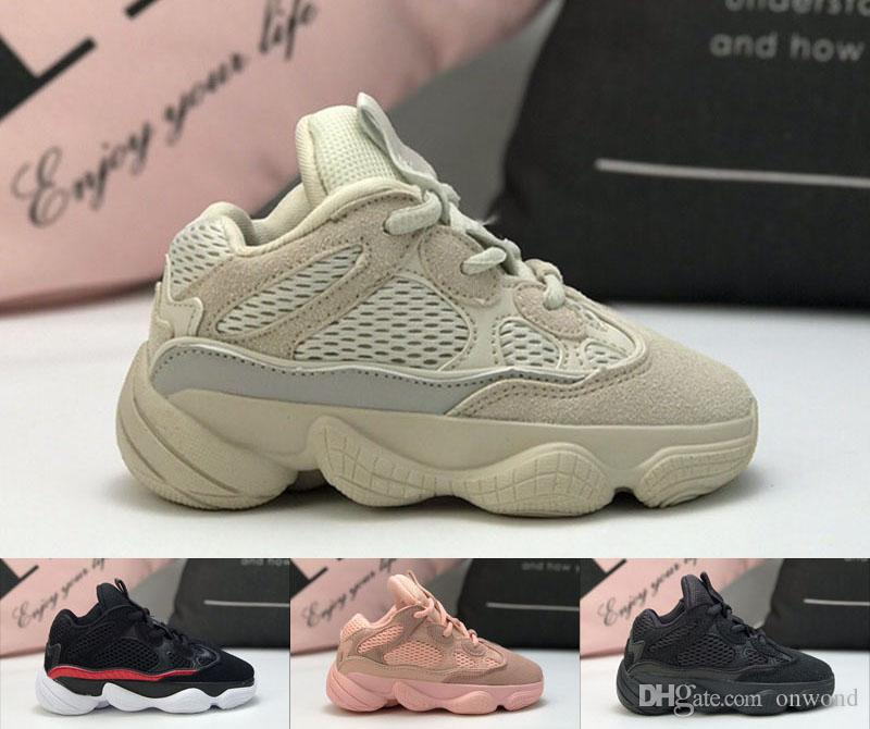 2019 500 Boosts Kids Running Shoes Pink Black Grey Childrens Sports Walking  Sneakers 500 Hot Zapatillas Boys Girls Athletic Shoes Sneakers For Children  Cute ... 30207f87b9