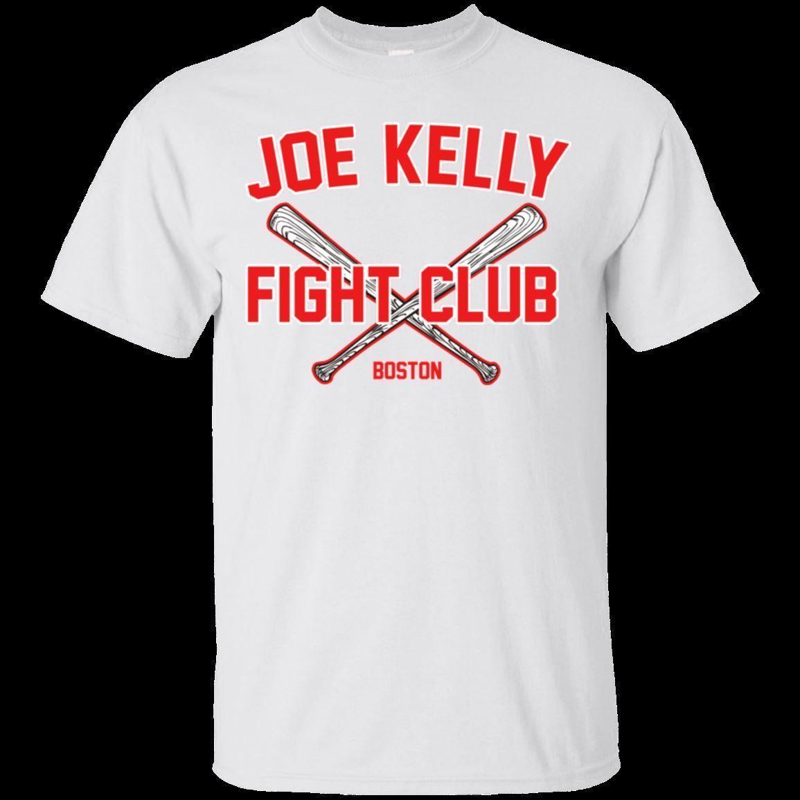 Joe Kelly Fight Club T Shirt Joe Kelly Boston Baseball Men S Tee Shirt  Humorous T Shirt Cool And Funny T Shirts From Goodencounter60 ce135ef793e