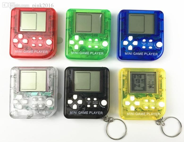 Ultra-small mini Children handheld game console Portable LCD Players Children Toy Educational Electronic Toys classic