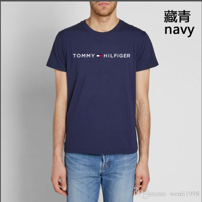 93935d5895 Men Clothing Summer Mens T-shirts KITH Fashion Letters Printed Tee ...