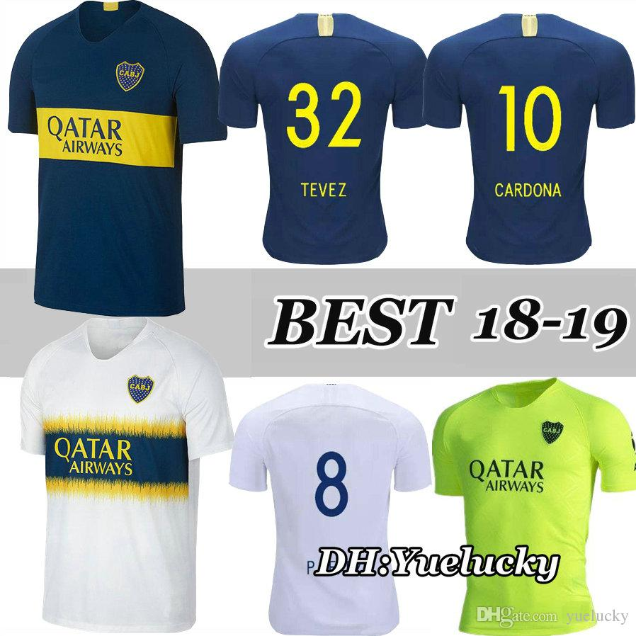 b18121181d3 2019 2019 2020 Boca Juniors Soccer Jersey Home Away 19 20 Top Thai Quality Boca  Juniors TEVEZ GAGO OSVALDO CARLITOS PEREZ P Football Shirts From Yuelucky,  ...
