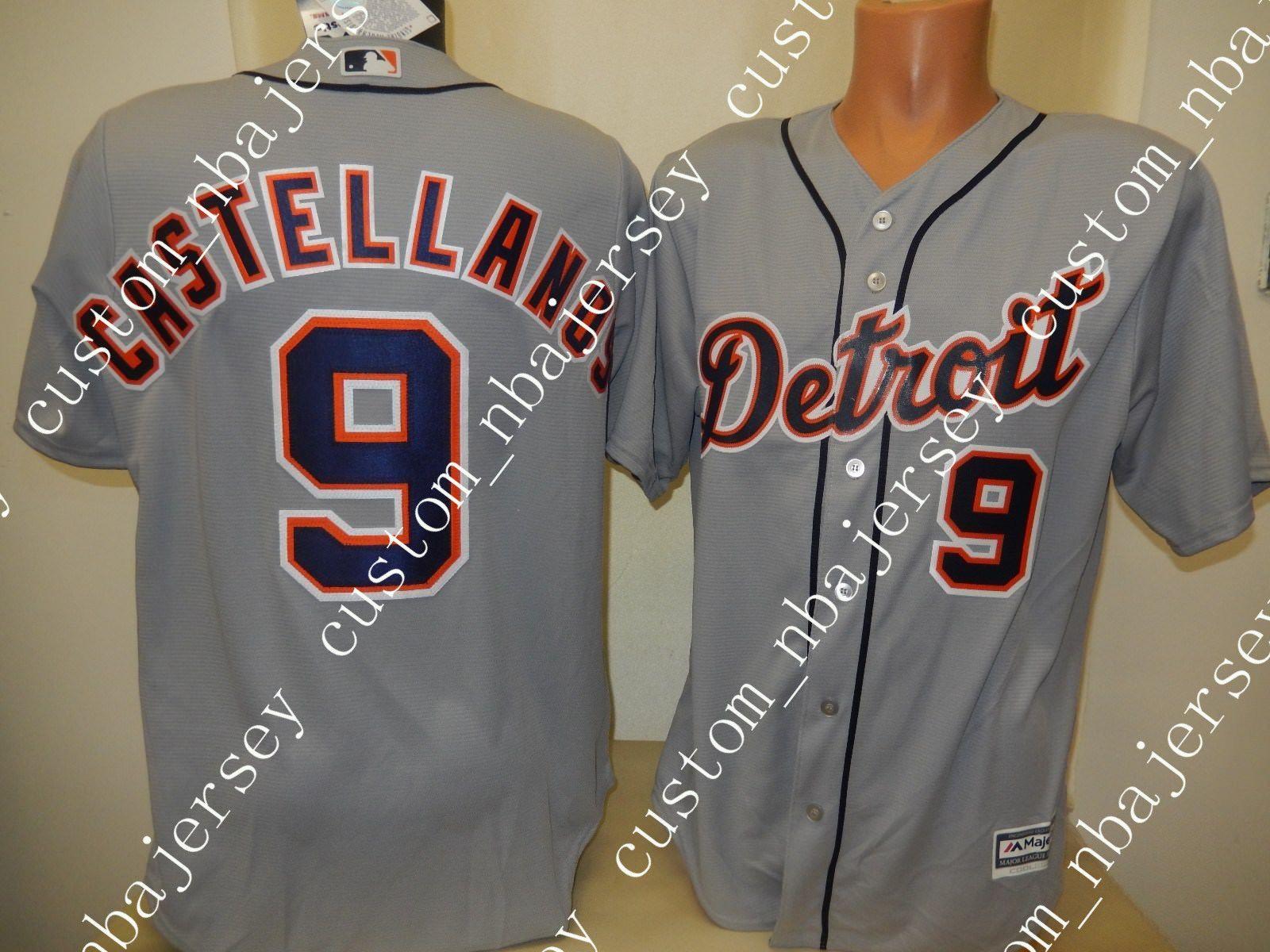 best service 2758f 3241a Cheap custom NICHOLAS CASTELLANOS Baseball Cool Base JERSEY GRAY Stitched  Customize any name number MEN WOMEN BASEBALL JERSEY XS-5XL