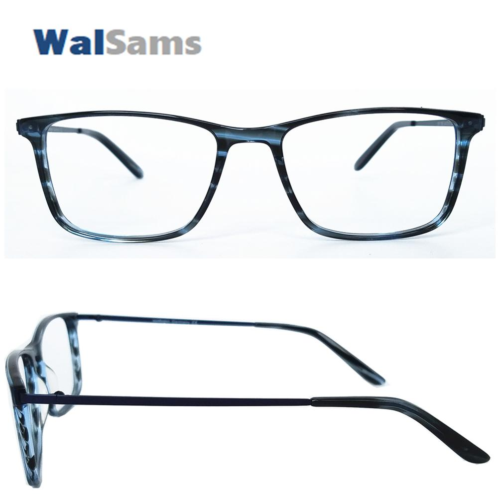 755ccf74402 2019 Germany Designed Thin Acetate Optical Glasses Frame For Men Lightweight  Metal Arm Handmade Eyeglasses Acetate Eyewear Frame 786 From Taihangshan
