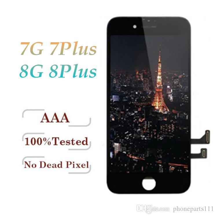 3eeacce2283 Super Hd Amoled Tianma LCD Para IPhone 7 7 Plus Pantalla Táctil  Digitalizador Ensamblaje Completo Partes De Reapir Para IPhone 8 8 Plus  Tipos De Ips Por ...