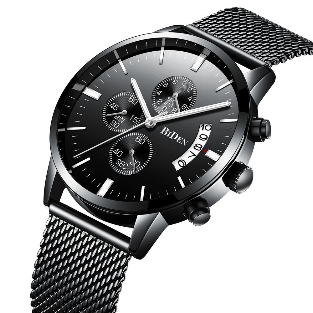fdd7888ec4f8 Compre Relojes Para Hombre De Primeras Marcas De Lujo A Prueba De Agua Reloj  Delgado Correa De Acero Para Hombre Moda Casual Reloj De Cuarzo Hombres  Fecha ...