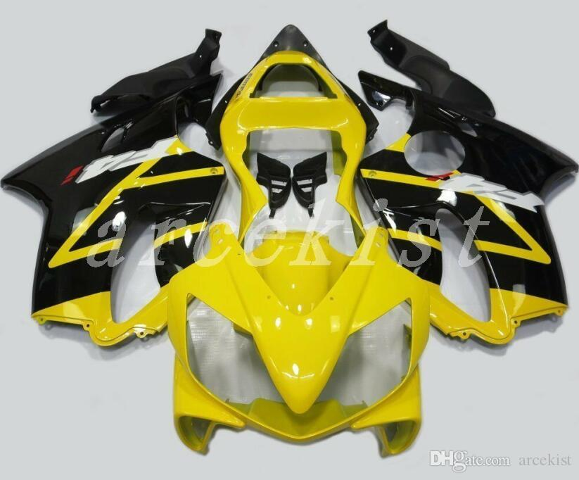 3Gifts New Injection ABS bike Fairing kits Fit for HONDA CBR 600 F4i fairings 2001 2002 2003 CBR600 FS F4i body 01 02 03 custom yellow black