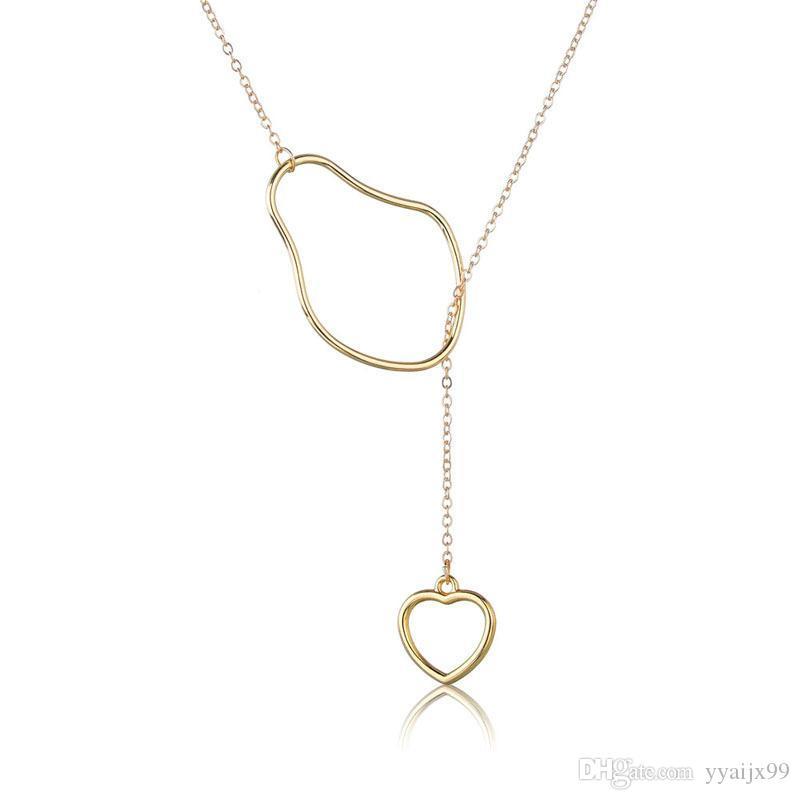 a50fffe3009b Compre 2019 Nuevo Verano Collar De Cadena De Clavícula Simple Collar De  Moda Europea Joyería 7 ESTILOS A  0.77 Del Yyaijx99