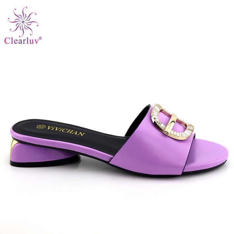 eeae2b1db Compre Zapatos De Cuero Africanos De La PU Sin Bolsa Bombas De Gran Tamaño  Moda Punta Estrecha Conciso Nuevo Diseño Tacón Alto Con Piedras Zapatos  Mujer A ...