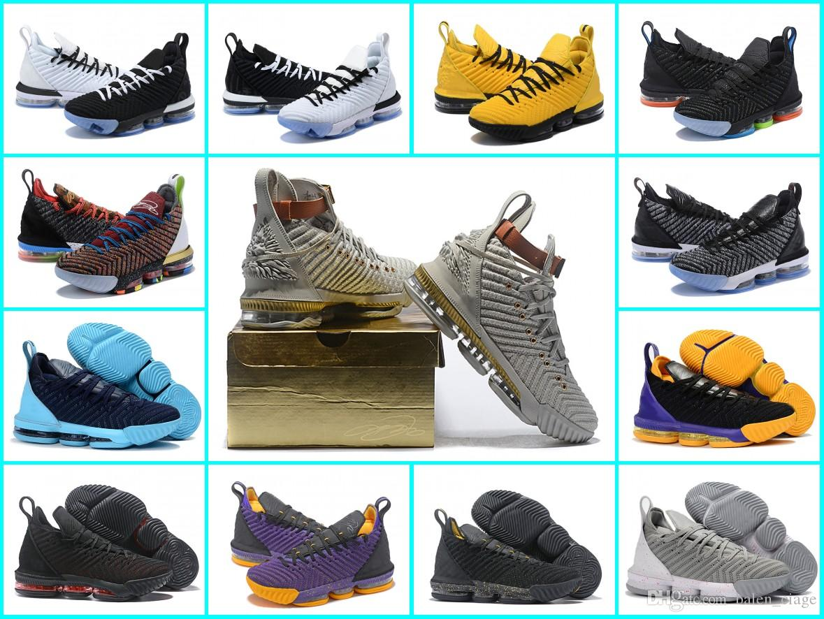 91ef3991faa83 2019 2019 All Color Lebron James Shoes Equality Basketball Shoes For Men  Waht Watch The Throne Lebron 16 Air Trainer Xi From Balen ciage