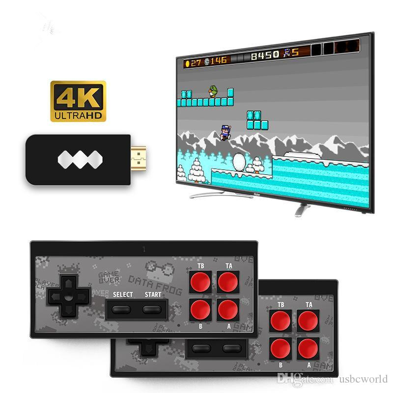 Nuovi 4K HD giocatore del video gioco palmare wireless Joystick gioco HDMI 568 AV 600 Retro Classic Games Portable Wireless Console da gioco