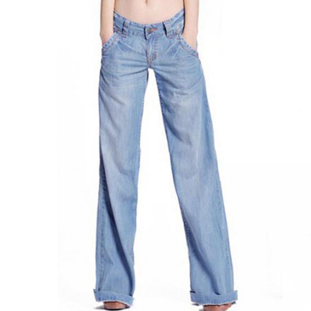 Casuali Blu Donne Jeans Modo Medio Di Chiari Nuove Acquista Vita IgqaY