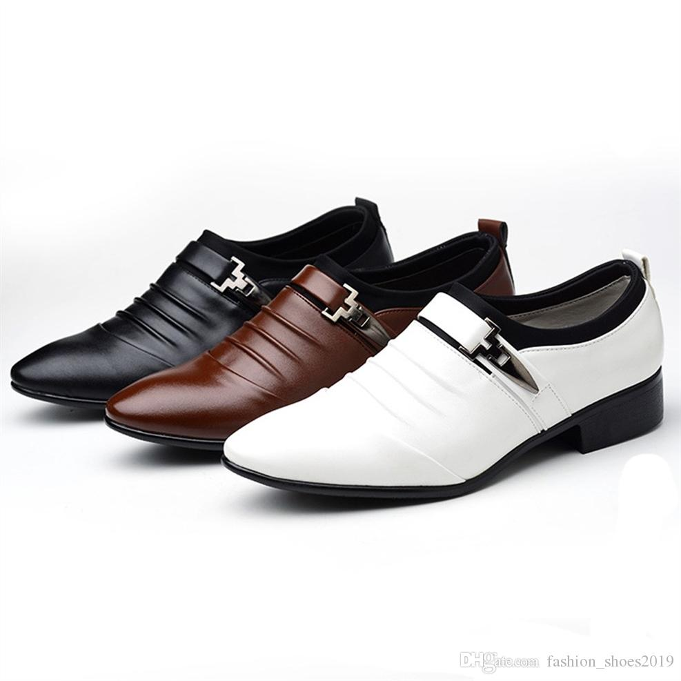 Formal Shoes Men's Shoes Natural Leather Oxfords Shoes For Men Summer Dress Shoes Plus Size Business Shoes Mesh Wedding Shoe Men