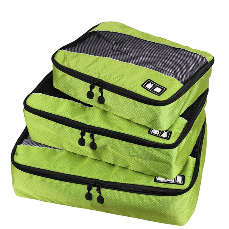 3Pcs/Set women Packing Cube Organizer For Clothes necessaire Luggage Travel Bags Carry on Suitcase Duffle Bag shoe weekend Bags