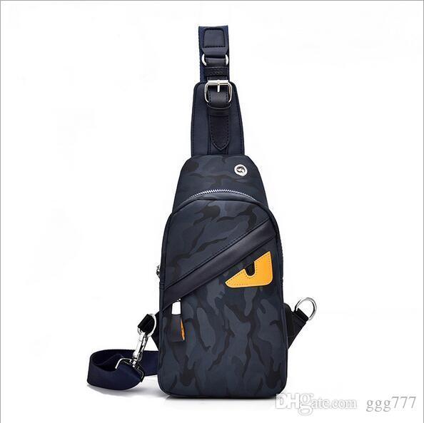f7dbc8584e0 Designer Women Men Bag fashion Chest Bag Sling bag Oxford cloth high  quality Handbag Crossbody Bags Shoulder Bags Outdoor hiking Sling bags