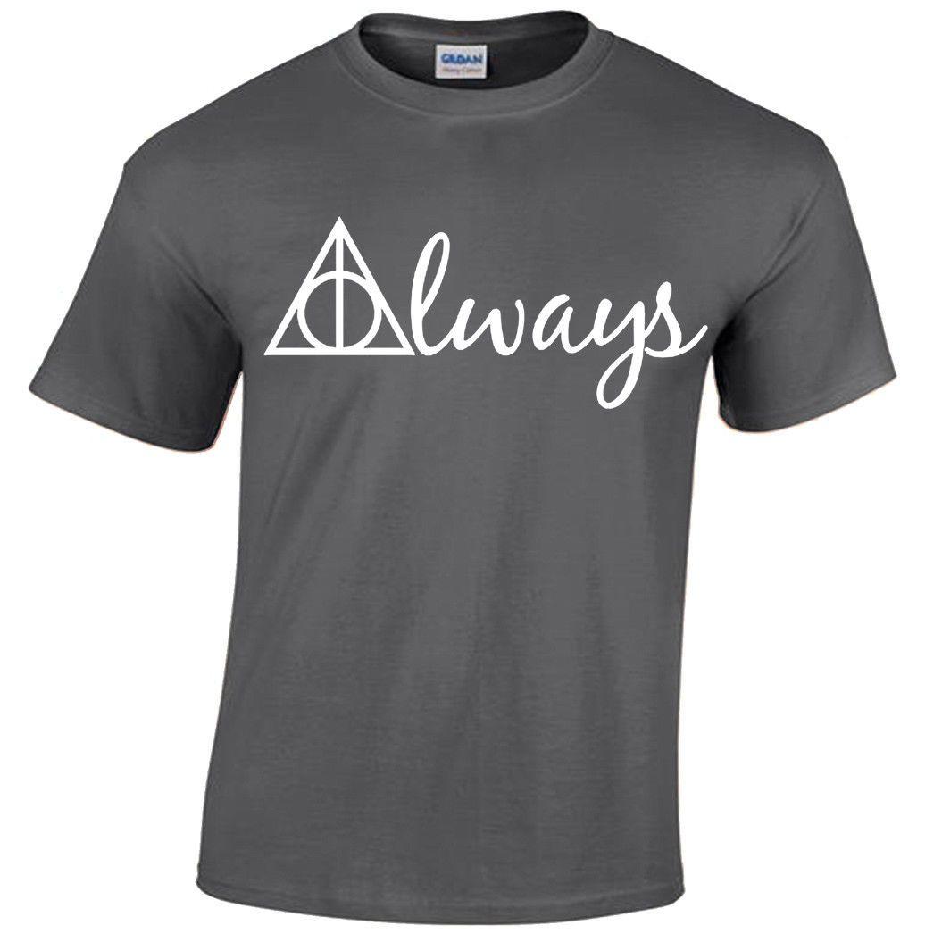 afa20dd1a ... ALWAYS Harry Potter T Shirt Men S Wizard Gryffindor Hogwarts Snape