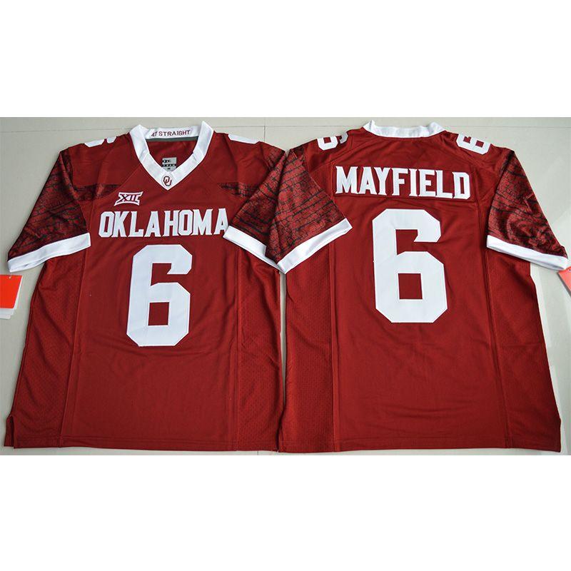 buy online 1dd6b e4b76 Mens Oklahoma Sooners Baker Mayfield Football Jersey Oklahoma Kyler Murray  High Quality Stitched NCAA College Football Jerseys
