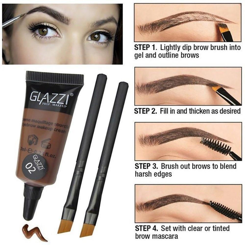F.Lashes Tattoo Pen Brush Gel Tattoo Makeup Eyebrow Dye Cream Makeup ...