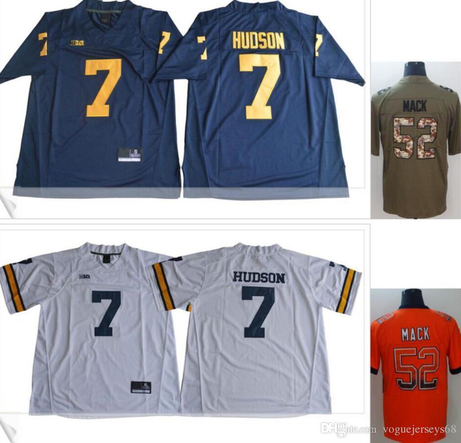 New Michigan Wolverines  7 Khaleke Hudson Chicago  52 Khalil Mack ... 2f56b065c