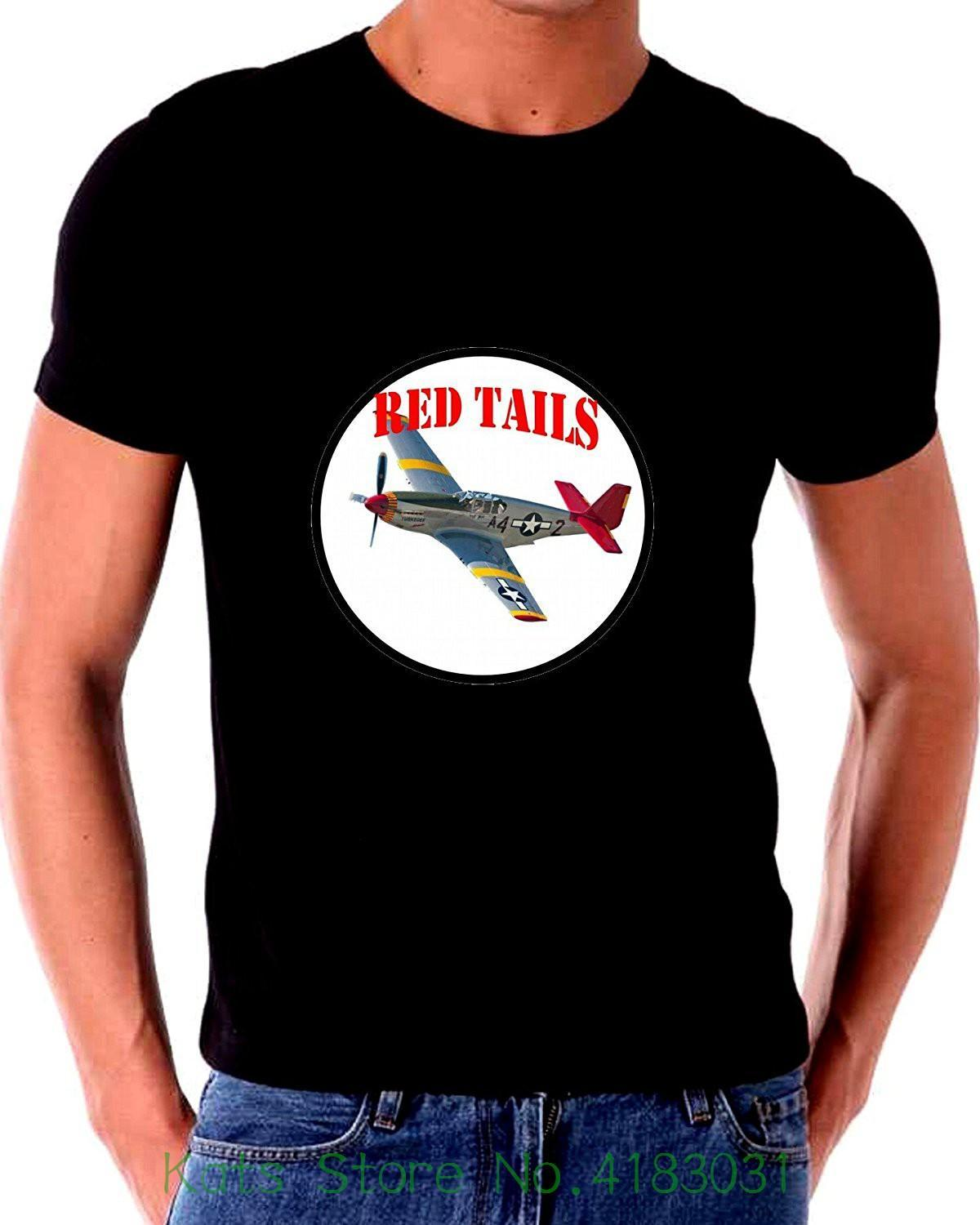 58c18c86 Tuskegee Airmen African American World War 2 Ii Pilots And Red Tail Plane T  Shirt Male Battery Funny Cotton Tops Best Sites For T Shirts Tee Shirt  Deals ...