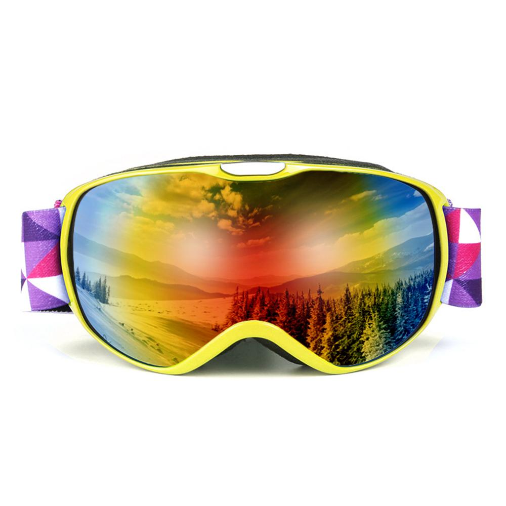70df511cfe1 2019 OTG Goggle UV400 Anti Fogging Ski Goggles Kids Snowboard Goggles  Glasses Snow Skiing Glasses Anti Fog Ski Mask From Yiyunwat