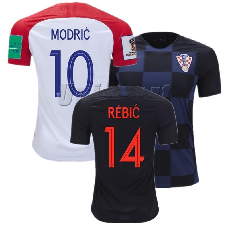 b902552fba297 2018 Copa Del Mundo Fútbol Croata Camisa Rakitic Modric Kovacia Camisetas  De Fútbol Croacia Fútbol Camisetas Kits Maillots Por Yoyosports
