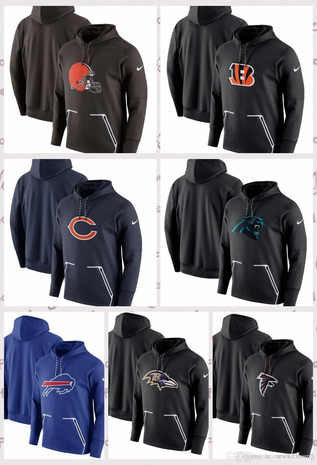 low priced 4a25d a261f Cleveland Browns Atlanta Falcons Carolina Panthers Chicago Bears Cincinnati  Bengals Champ Drive Vapor Speed Pullover Hoodie