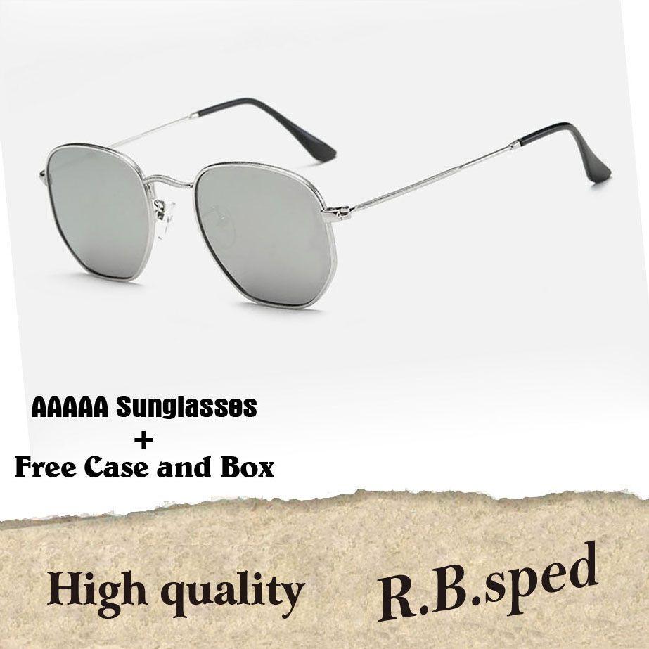 629bec8a5e High Quality Hexagon Metal Frame Uv400 Glass Lenses Brand0 Sunglasses Women  Men Brand Designer Eyewear Driving Glasses With Cases And Box Cheap  Eyeglasses ...