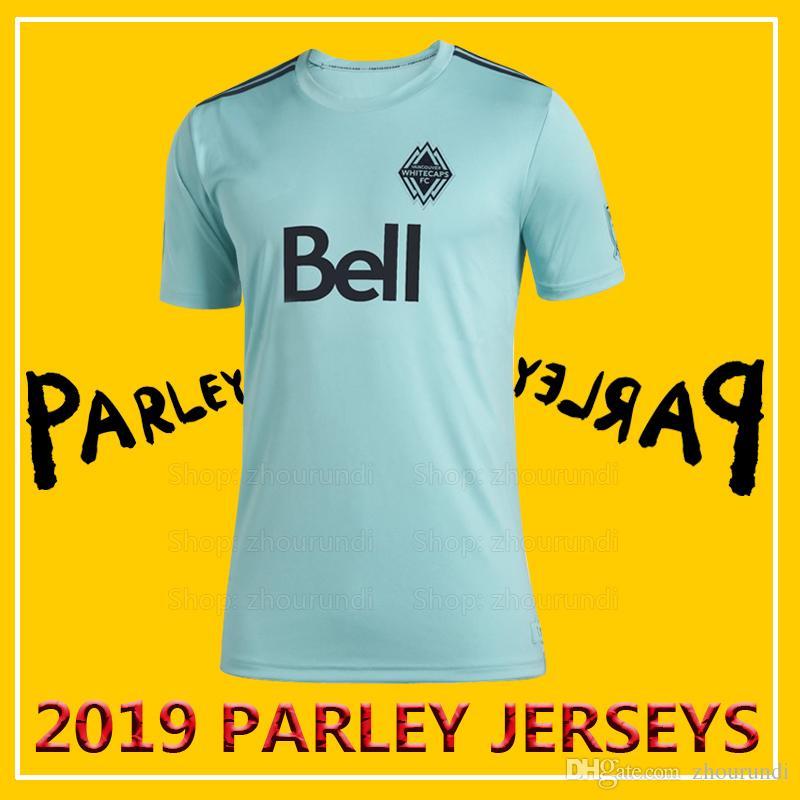 promo code ebf76 2f624 2019 Vancouver FC Parley soccer jerseys Vancouver FC jerseys 2019/20  Vancouver FC x MLS x Parley eco-friendly jersey Running Jerseys XXS-4XL