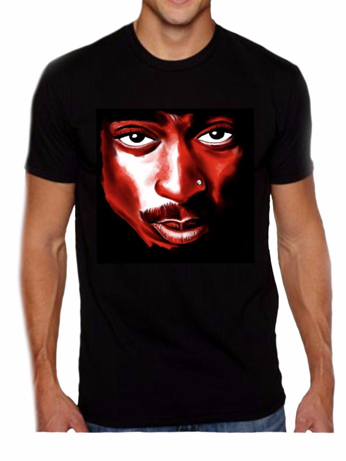 ea9d3a1172c Tupac All Eyez on Me - 2Pac - Unisex Black T-Shirt Trump Sweat ...