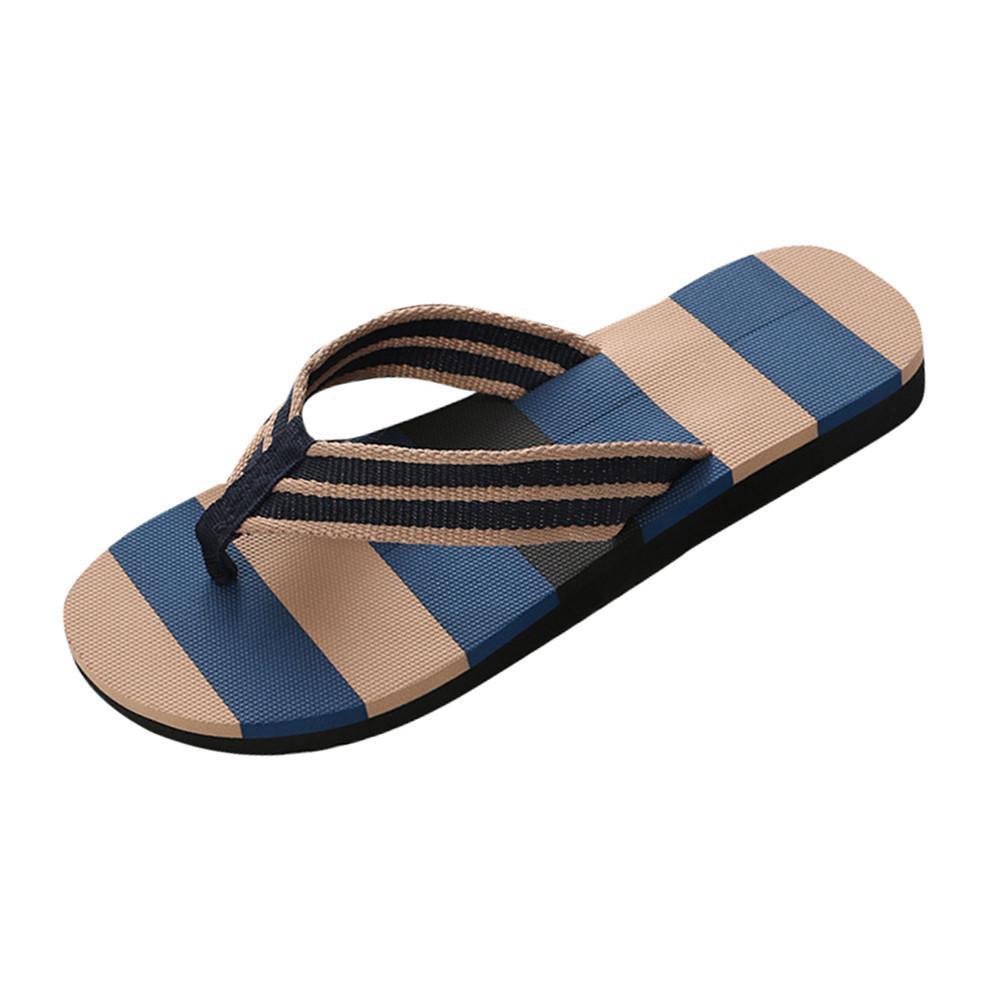 mixed colors sandals male slipper indoor or outdoor flip flops