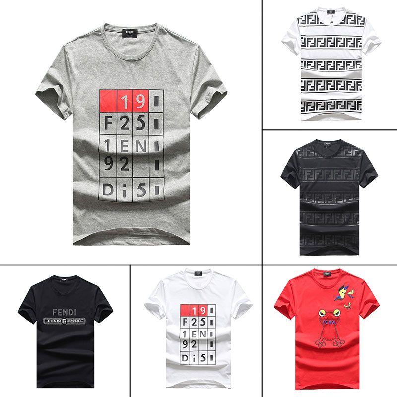 38f59920 New Summer Short T Shirt Men Famous Brand Designer Mens T Shirt Top Vintage  Quality K2 Cotton Fashion Men'S Wear Cool Tshirt 1C Funny Political T  Shirts Tee ...
