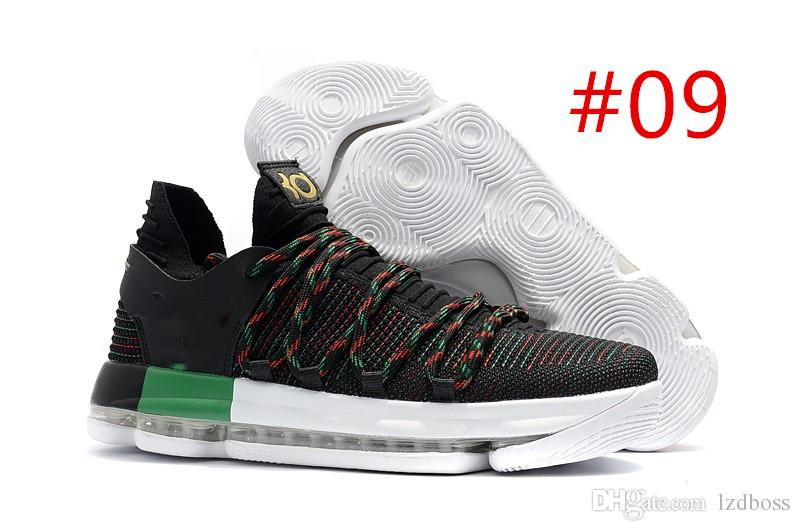 buy popular 09f04 fd629 Cheap 2019 Newest Sale Best Quality Arrival KD 10 Para Basketball Shoes for  High Quality Kevin Durant 10s Bounce Cushion Sports Sneakers Lzdbo