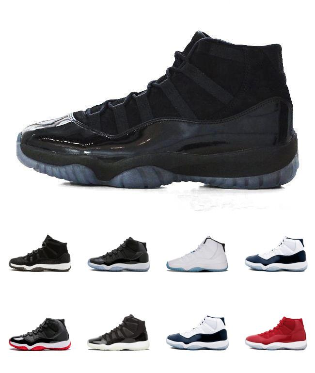 35b998e9f2666e J11 Xi Shoes 11s Gym Red Chicago Midnight Navy Win Like 82 Unc Space Jam 45  Mens Basketball Shoes 11s Athletic Sport Sneakers Basketball Shoes Online  Online ...