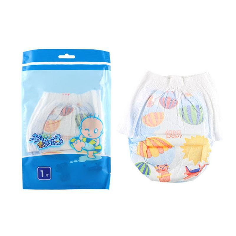 9f8ff3f615be 2019 Baby Waterproof Diapers Newborn Baby Disposable Swimming Pants Infant  Leakproof Swim Diapers Nappies For 0 18months From Phononame, $34.66    DHgate.Com