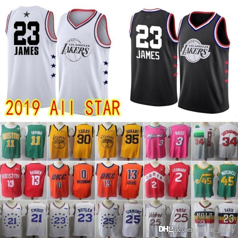 the latest fea9a 25d34 Miami 3 Wade Jersey Toronto 2 Kawhi Dwyane Leonard Raptors Earned Edition  Hot 23 James 2019 LeBron New All Los Angeles jerseys