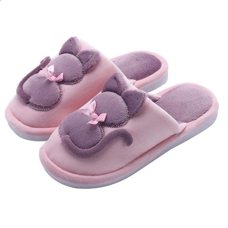 Zapatos Invierno Mujer bolsos Animales cálido y Zapatillas 0ymOPn8vNw