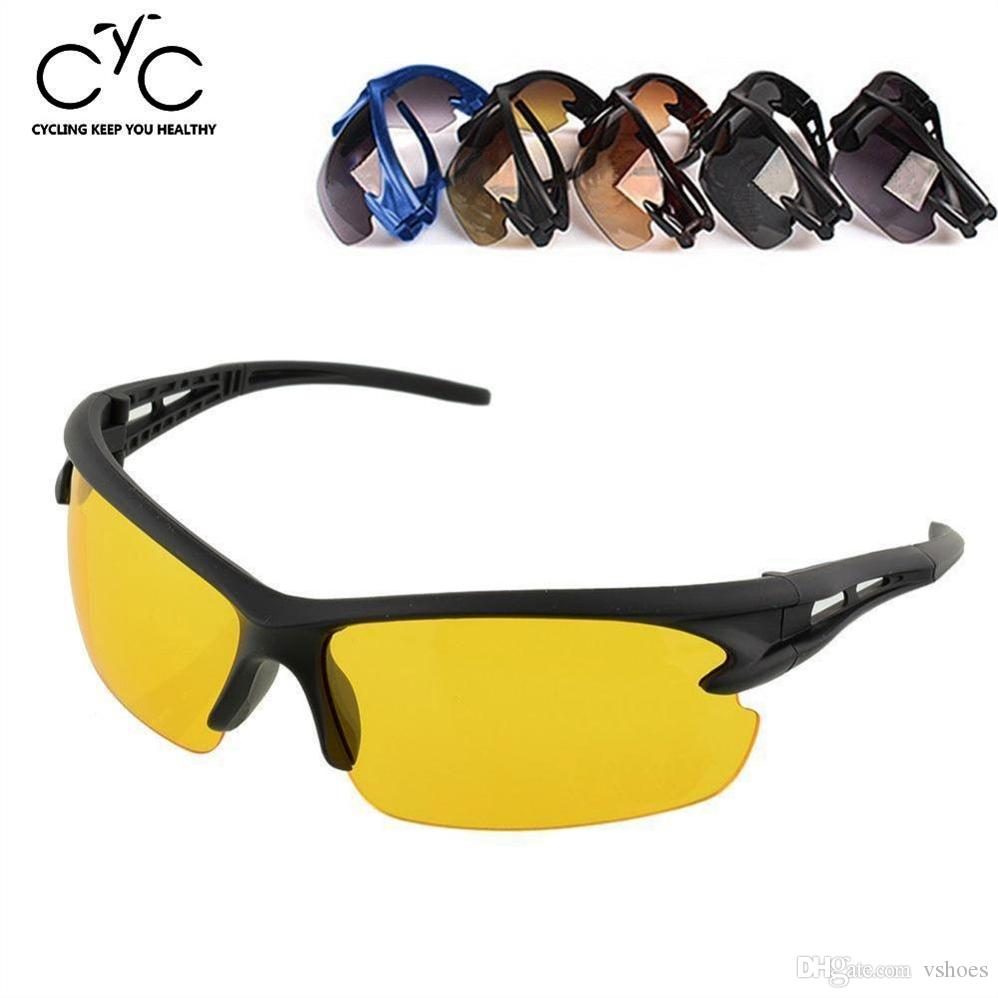 EYCI UV Protective Goggles Outdoors Motocycle Riding Fishing Driving Sports Surfing Hiking Bicycle Cycling Sunglasses #226198