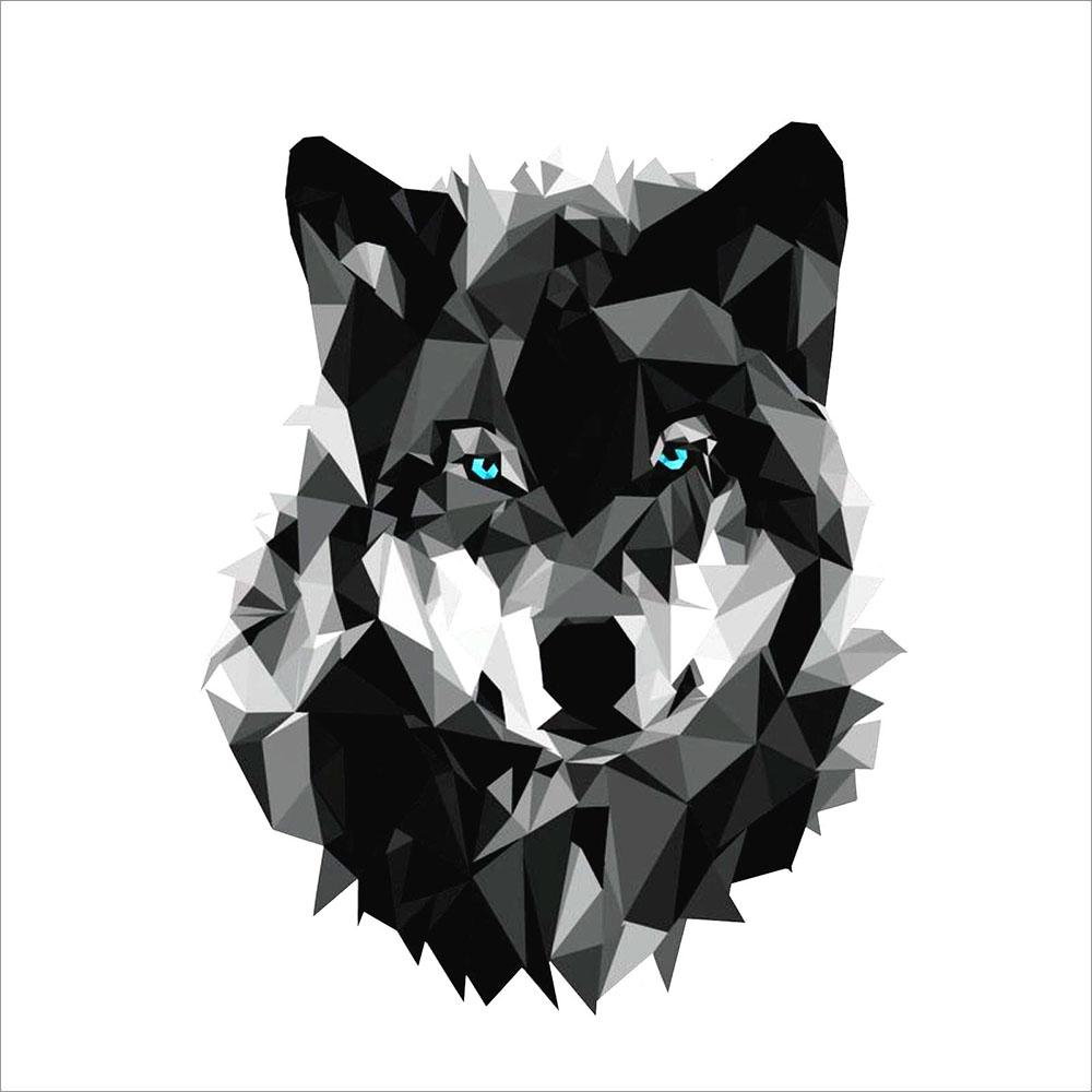 2019 3m graphics wolf cool animal vinyl helmet toolbox window notebook sticker decal decoration accessories from xymy767 1 91 dhgate com