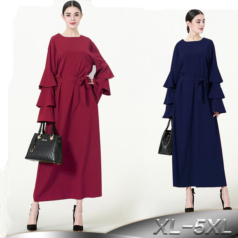 2019 Abaya Turkey Robe Dubai Islam Hijab Muslim Dress Caftan Marocain Qatar  UAE Oman Kaftan Abayas For Women Turkish Islamic Clothing From Cfendou 93e13963cf03