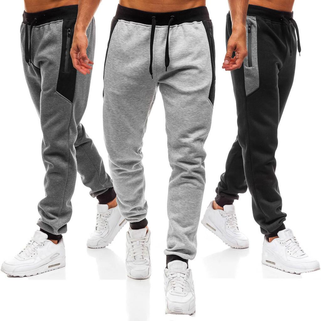 Sports & Entertainment 2019 Loose Men Running Pants Black Fitness Joggers Trousers Male Athletic Football Soccer Pants Gym Sweatpants Pantalon Hombre High Quality And Inexpensive