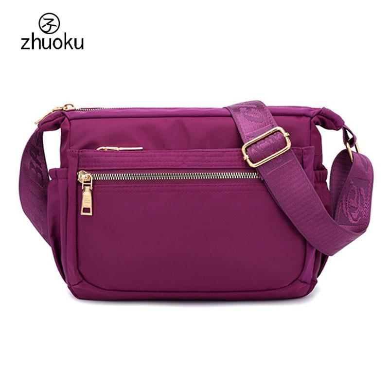 e4bf4ab1a7 Aliexpress Casual Crossbody bag fashion Lady bags Handbags Waterproof nylon  Women shoulder bags Female messenger purse Z529